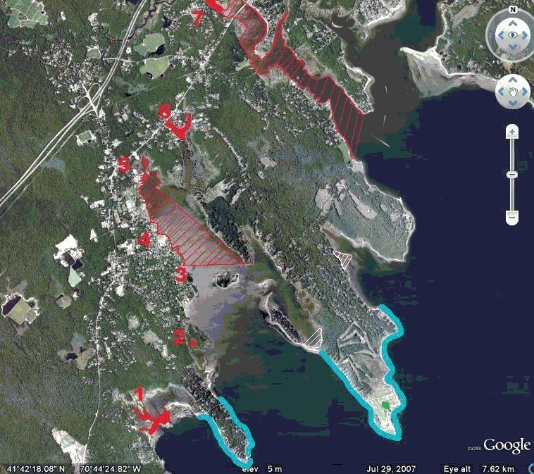 Shellfish Open/Closed Area Map