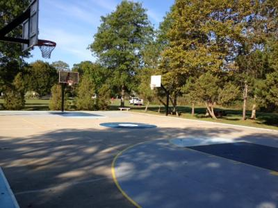 silvershell basketball courts
