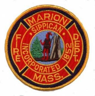Marion Fire Dept. Patch