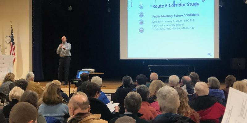 Route 6 Corridor Study Public Input Session on December 18th, 6 PM